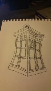 TARDIS sketch