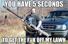 get off my lawn meme